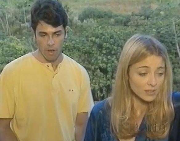 Rodrigo (Cláudio Lins) e Maria Luísa (Christine Fernandes). Foto: Reprodução/Band
