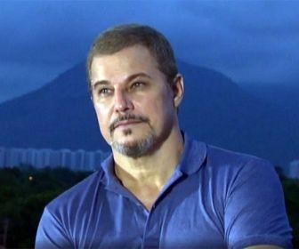 Celulari durante entrevista para o Fantástico/Globo