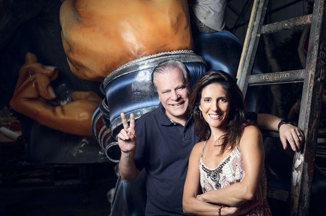 Chico Pinheiro e Monalisa Perrone. Foto: Globo
