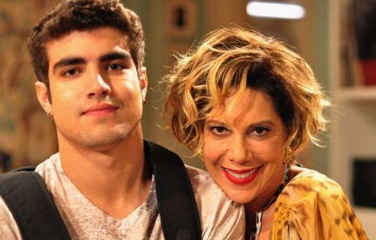 Caio Castro & Angela Vieira