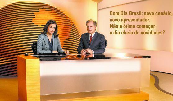 """Bom Dia Brasil: Confira Um Trecho Do Novo Cenário Do """"Bom Dia Brasil"""