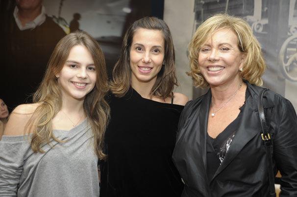 Salgueiro, Tania Khalill e Arlete Salles: três gerações (Foto
