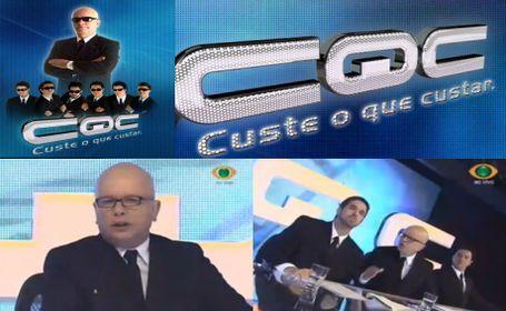CUSTE O QUE CUSTAR - CQC: HUMOR DE CLASSE!