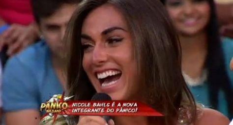 """Band anuncia a contratação de Nicole Bahls como integrante do """"Pânico"""""""