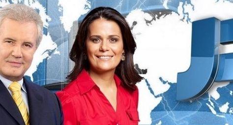 """Audiência do """"Jornal da Record"""" cresce sem Ana Paula Padrão"""