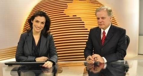 Com mudanças, telejornais da Globo crescem em audiência