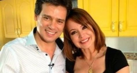 "Celso Portiolli visita Gabriela Spanic, protagonista de ""A Usurpadora"""