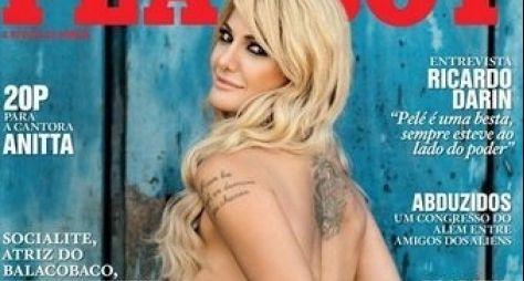 Veja a capa da 'Playboy' com Antonia Fontenelle
