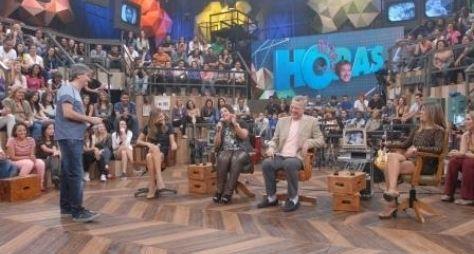 """Grazi Massafera e Pedro Bial se encontram no """"Altas Horas"""""""