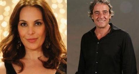 Carolina Ferraz e Alexandre Borges são reservados para novela das sete