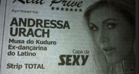 Andressa Urach renega seu passado