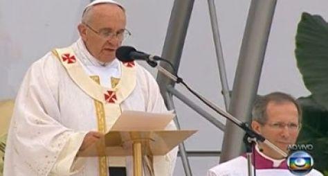 Globo exibiu 33 horas de papa; Record apenas três