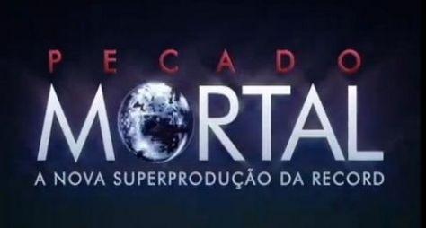 """Confira a provável logomarca de """"Pecado Mortal"""", a nova superprodução da Record"""