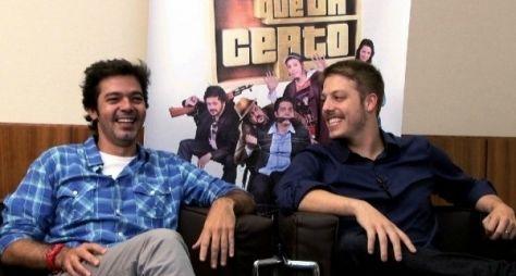 Bruno Mazzeo e Fábio Porchat estão nos planos da Globo
