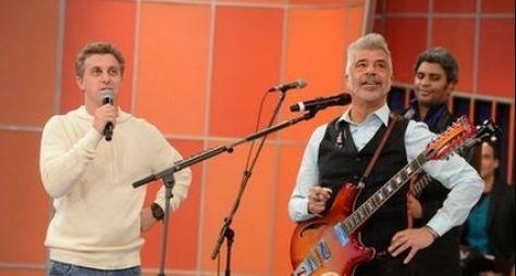 """Lulu Santos é a atração musical do """"Caldeirão do Huck"""""""