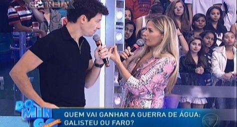 """Estreia do """"Domingo da Gente"""" perde audiência para Chiquinha do SBT"""