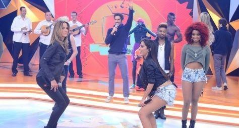 Marcos Mion relembra Anitta e Ticiane Pinheiro dançando Quadradinho de 8