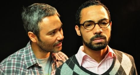 Ângelo Paes Leme e Silvio Guindane, da Record, estrelam série do Multishow