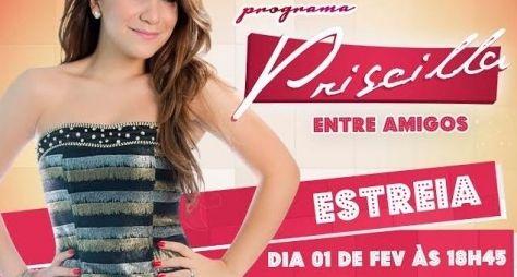 Priscilla Alcantara estreia na Rede TV em fevereiro