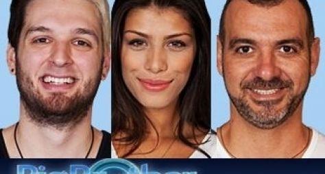 Franciele, Cássio e Vagner formam o sexto paradão do BBB14
