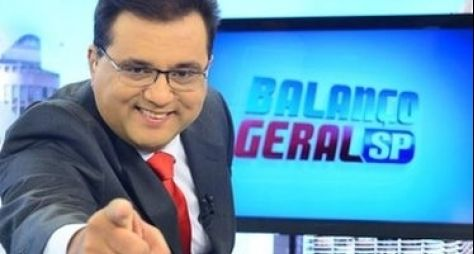 Despedida de Geraldo Luis não altera audiência do Balanço Geral SP