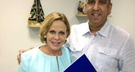 TV Aparecida marca data de estreia de Claudete Troiano