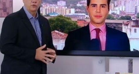 Record pretende unir Luiz Bacci e Marcelo Rezende em programa de entretenimento