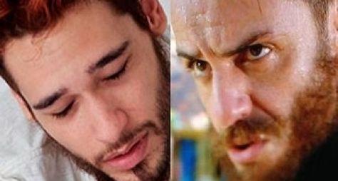 Rodrigo Lombardi e Bruno Fagundes ficam ruivos para Meu Pedacinho de Chão