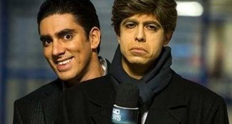Tá no Ar: Marcelo Adnet e Marcius Melhem gravam nova série da Globo