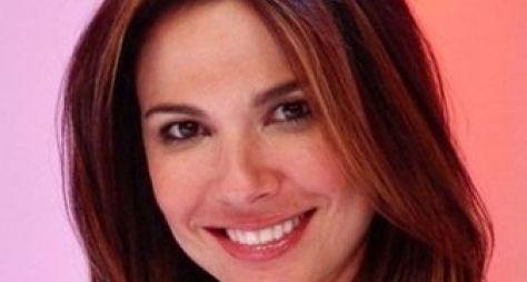 Luciana Gimenez grava participação no Roberto Justus +