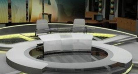 Novos cenários de jornais da Globo estreiam segunda-feira