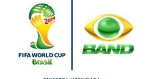 Band tem recorde de audiência na Copa do Mundo FIFA 2014
