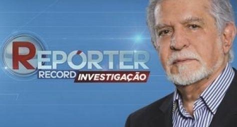 Programa de entretenimento do SBT ofusca o Repórter Record Investigação