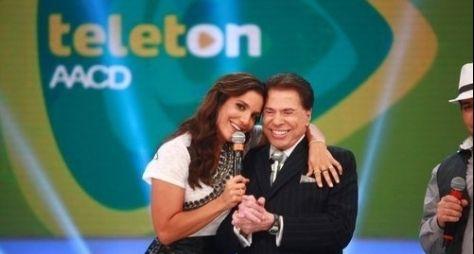Ivete Sangalo deverá encerrar, novamente, Teleton ao lado de Silvio Santos