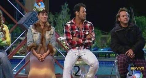 Heloisa, Diego e Roy formam a primeira Roça de A Fazenda 7