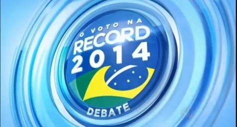 O Voto na Record: debate entre presidenciáveis fica em terceiro lugar