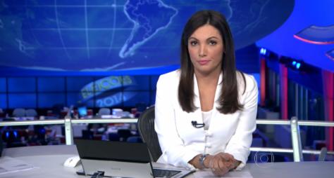 Patrícia Poeta se despede do Jornal Nacional na sexta, 31