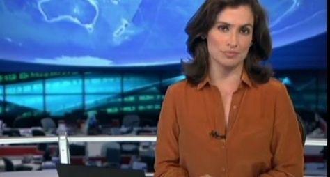 Renata Vasconcellos estreia no Jornal Nacional no dia 3 de novembro