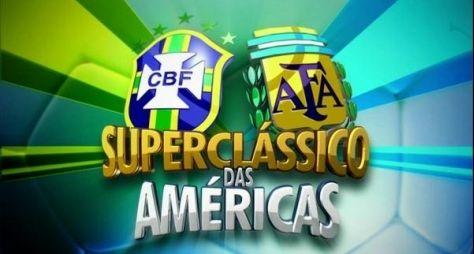 Superclássico das Américas eleva audiência da Globo na manhã deste sábado, 11