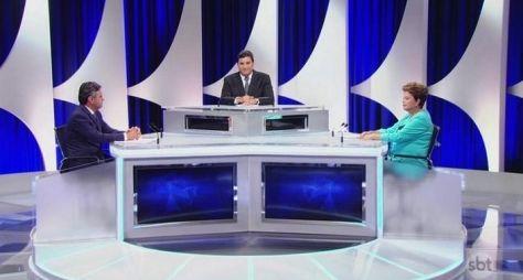 Debate entre presidenciáveis deixa SBT em 2º na audiência