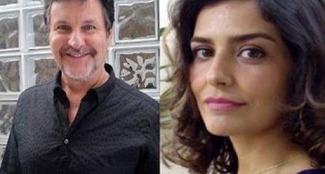 Antonio Calloni e Leticia Sabatella serão pai e filha em Dois Irmãos