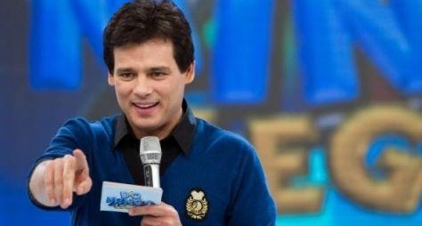 Celso Portiolli apresenta programa sem contrato com o SBT