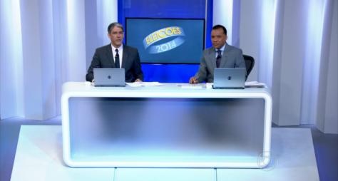 Com eleições, Globo cresce 22% em audiência no domingo