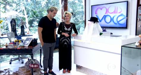 André Marques assume Mais Você durante viagem de Ana Maria Braga