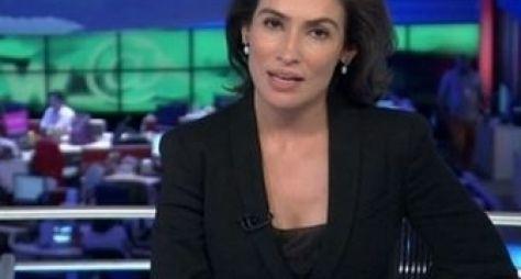 JN registra boa audiência na estreia de Renata Vasconcellos