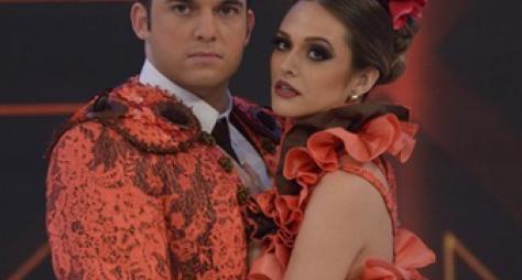 Juliana Paiva é eliminada da Dança dos Famosos