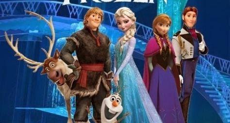 Frozen faz sucesso na TV paga
