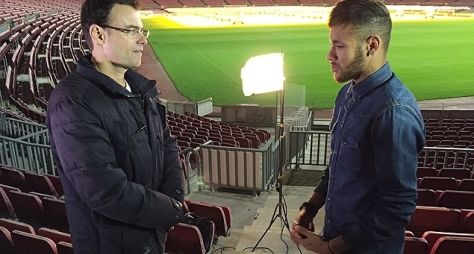 Tino Marcos entrevista Neymar antes de período sabático