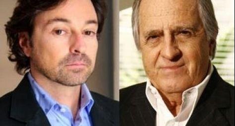 Ary Fontoura e Emílio Orciollo estudam canto para Dois Irmãos
