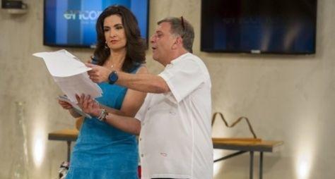 Fátima Bernardes grava participação em Alto Astral